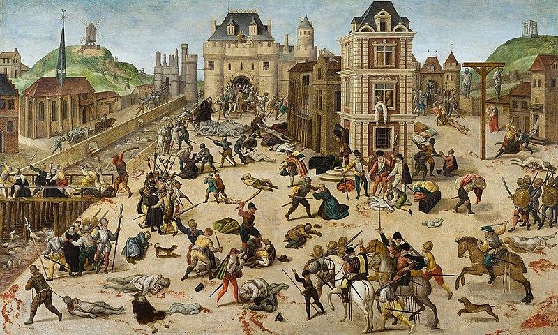 Le Massacre de la Saint-Barthélemy, par François Dubois (1529-1584)
