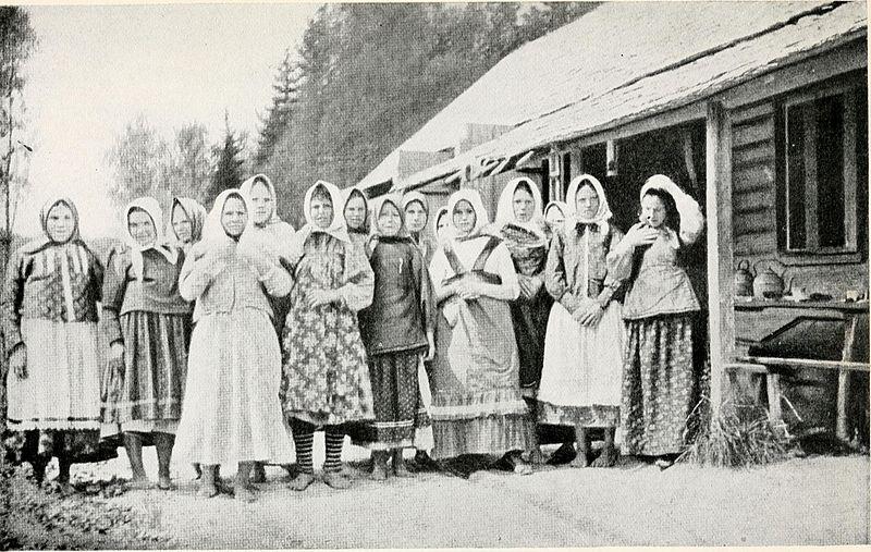 Des paysannes russes