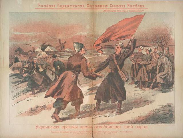 L'armée rouge ukrainienne libère son peuple