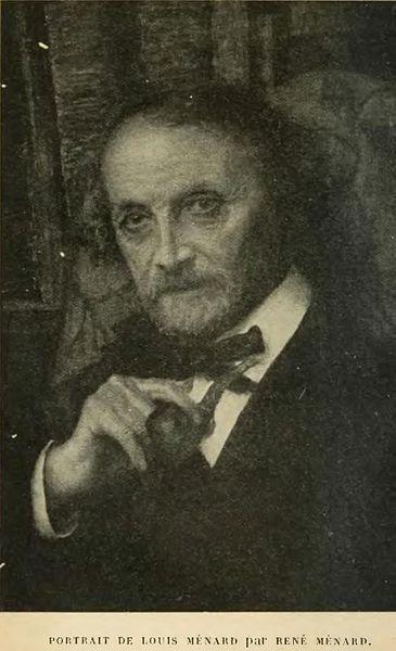 Photographie de Louis Ménard.