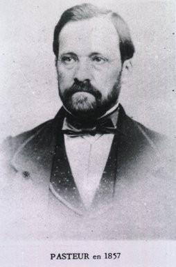 Louis Pasteur en 1857